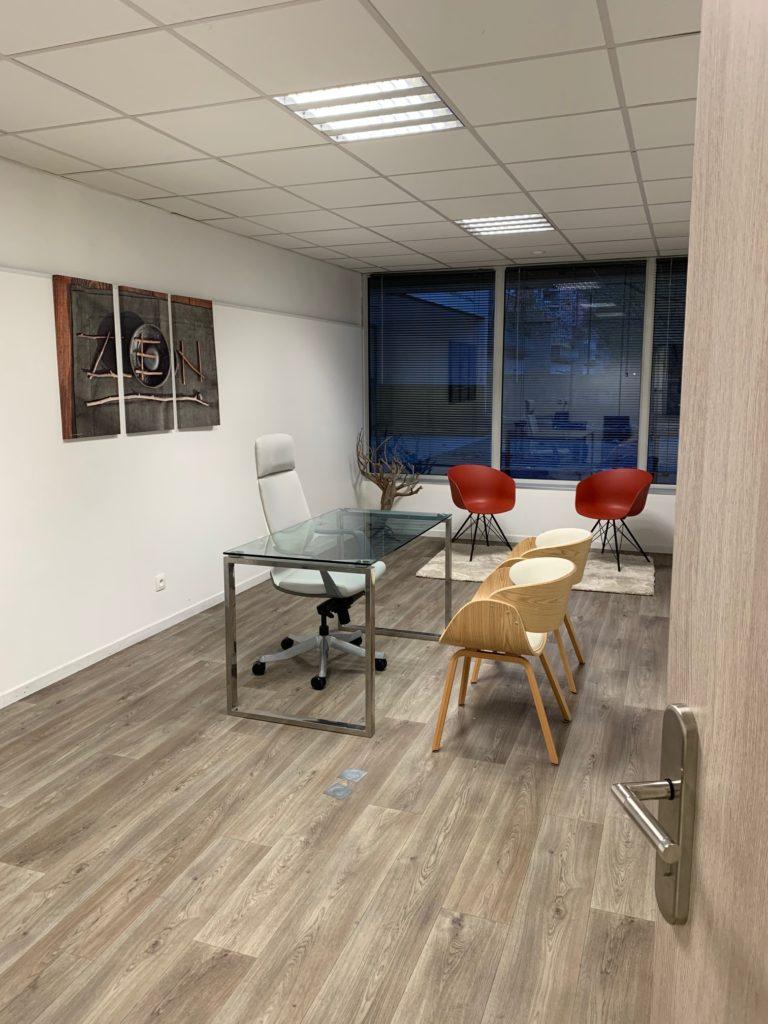 bureau privé du centre Lab-Ad-Hoc de Maisons-Alfort
