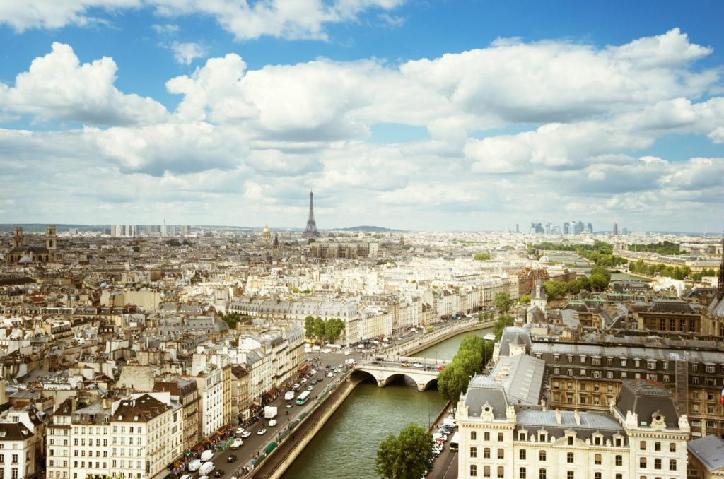 Photo d'une vue sur Paris pour représenter le centre d'affaires Lab-Ad-Hoc de Maisons-Alfort